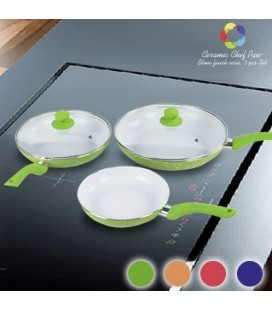 Sartenes Ceramic Chef Pan Stone Edition